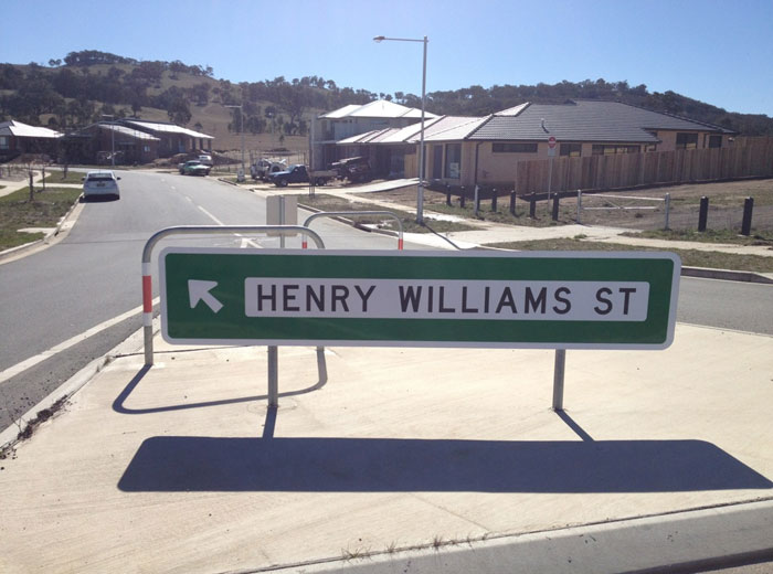 Henry Williams Street